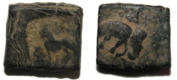 Bronce indo-griego Post-Mauryan  Indo11008lionele